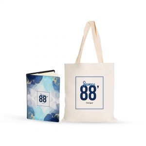 Birthday Gift – Notebook & Tote Bag