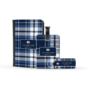 Gift For Father – Blue Checkered