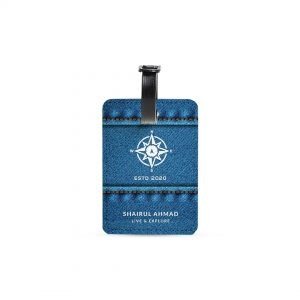 Luggage Tag – Follow The Compass